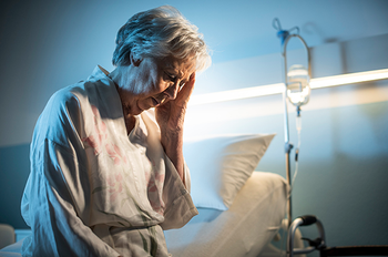 A study by researchers with UTHealth links delirium to hospitalized older adults with acute heart failure mortality (Photo by Getty Images)