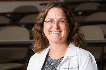 Photo of UTHealth's Louise McCullough, MD, PhD, who as recognized by the National Institute of Neurological Disorders and Stroke. (Photo credit: Country Park Portraits)