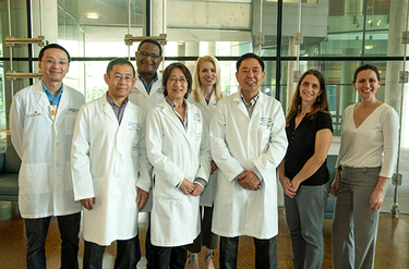 Photo of CPRIT grant winners. (Photo by Dwight Andrews/ McGovern Medical School)