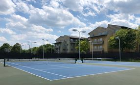 Rec Center Tennis Court Contact for Membership