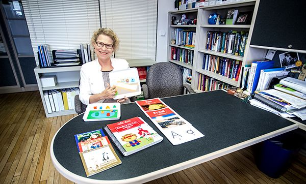 Photo of Carolyn Denton, Ph.D., of the Children's Learning Institute at UTHealth.