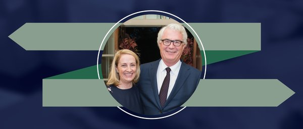 "Diana and Russell Hawkins support a ""rapid strike force"" for cutting-edge research through their endowed fellowships at The University of Texas MD Anderson UTHealth Graduate School of Biomedical Sciences."