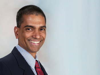 Photo of Pramod Dash, PhD (Photo by Dwight Andrews/ UTHealth)