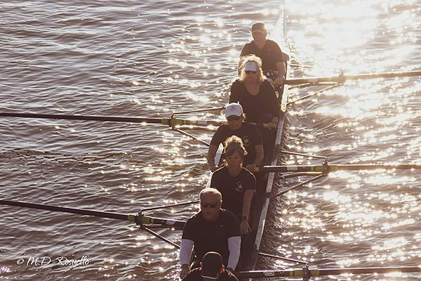 Initially, rowing seemed to be part of the cause behind Tammy Foy's puzzling condition. (Photo courtesy of Tammy Foy)