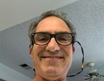 Photo of Greg Geraci. Greg Geraci, from Huntington Beach, California, participated in the Phase I clinical trial to test the safety and tolerability of stem cells as a treatment for Parkinson's disease. (Photo courtesy of Greg Geraci)
