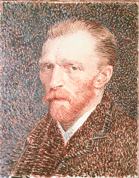 Image of Vincent Van Gogh. His struggles with mental illness are often credited as the root of his artistic genius, but a UTHealth psychiatrist says that is just one thing that influenced him. (Photo courtesy of Getty Images)