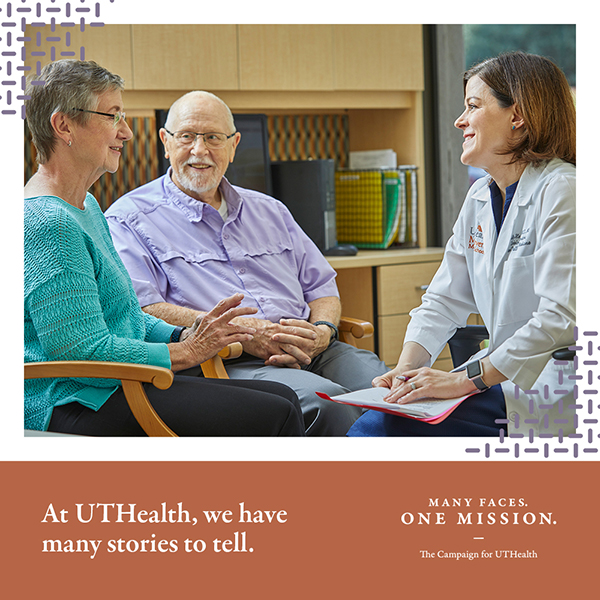 UTHealth publicly launched its first comprehensive campaign Many Faces. One Mission. on Thursday, April 8, representing the largest philanthropic effort in the university's history.