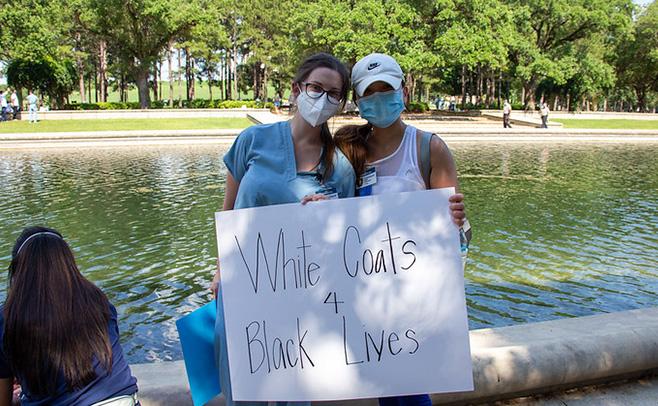 Thumbnail for White Coats for Black Lives