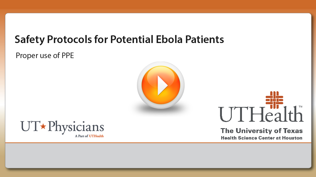 Safety Protocols for Potential Ebola Patients