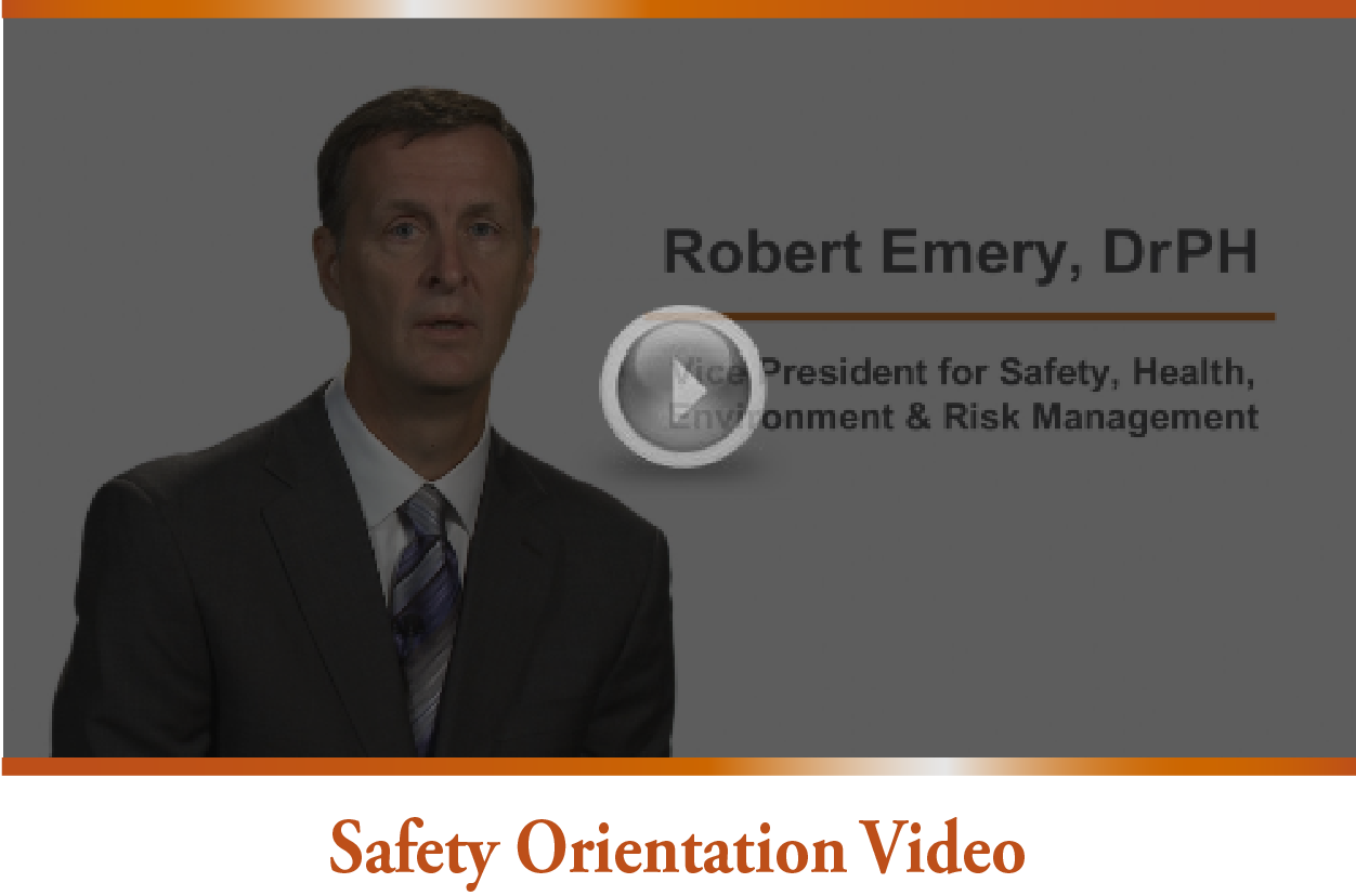 Safety Orientation Video