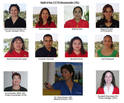 Brownsville CRU staff photos