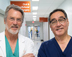 Researchers from UTHealth School of Dentistry: James Wilson, D.D.S., and Mark Wong, D.D.S.