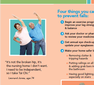 Stay Independent - Fall Prevention pamphlet